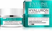 EVELINE_Hyaluron Expert 40+ wygładzająco-napinający krem-koncentrat przeciwzmarszckowy dla cery dojrzałej dzień/noc 50ml Eveline Cosmetics
