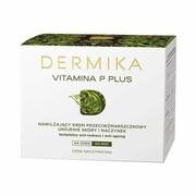 DERMIKA_Vitamina P Plus nawilżający krem przeciwzmarszczkowy na dzień/na noc cera naczynkowa 50ml Dermika