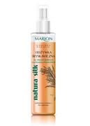 MARION_Natura Silk błyskawiczna dwufazowa odżywka do włosów łamliwych z rozdwojonymi końcami 150ml Marion
