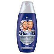 SCHAUMA_Silver Reflex Anti-Yellowness Shampoo szampon przeciw żółtym tonom do włosów siwych białych i blond 250ml Schauma