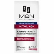 AA_Men Advanced Care Face Cream Vital 40+ przeciwzmarszkowy krem do twarzy 50ml AA