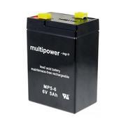 Akumulator Multipower MP5-6 6V 5Ah Multipower