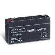 Akumulator Multipower MP1.2-6 6V 1,2Ah Multipower