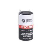 Akumulator kwasowo-ołowiowy Enersys/Hawker, ogniwo ołowiowe D Cyclon 0810-0004 2V 2,5Ah HAWKER