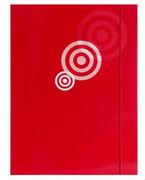 Teczka kartonowa z gumką czerwona x1
