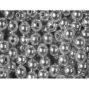 Koraliki Titanum 40g 5mm srebrne x1