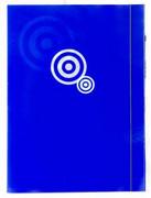 Teczka kartonowa z gumką niebieska x1