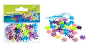 Koraliki plastikowe Craft with Fun kwiatki x40