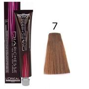 Loreal Dia Richesse 7 | Półtrwała farba do włosów - kolor 7 blond 50ml