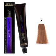 Loreal Dia Light 7 | Półtrwała farba do włosów - kolor 7 blond 50ml