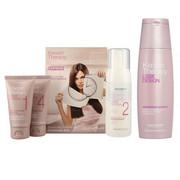 Alfaparf Keratin Therapy Smoothing Treatment Kit   Zestaw do keratynowego prostowania włosów + szampon 250ml