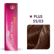 Wella Color Touch Plus 55/03   Bezamoniakowa półtrwała farba do włosów 55/03 60ml