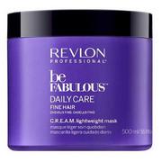 Revlon Be Fabulous Fine Hair C.R.E.A.M. Mask   Maska do codziennej pielęgnacji włosów cienkich 500ml