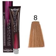Loreal Dia Richesse 8 | Półtrwała farba do włosów - kolor 8 jasny blond 50ml