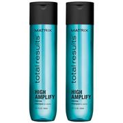 Matrix Total Results High Amplify | Zestaw: szampon do włosów cienkich 2x300ml