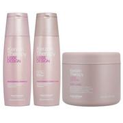 Alfaparf Keratin Therapy Maintenance   Zestaw podtrzymujący efekt wygładzenia: szampon 250ml + odżywka 250ml + odżywka wygładzająco-dyscyplinująca 500ml