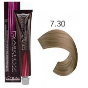 Loreal Dia Richesse 7.30 | Półtrwała farba do włosów - kolor 7.30 blond złocisty głęboki 50ml