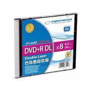Płyta Esperanza DVD+R 8,5GB DL x8 w opakowaniu typu slim