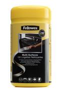 Pojemnik ze ściereczkami do czyszczenia obudów Fellowes, opakowanie 100 sztuk, 9971518 - Super Ceny - Rabaty - Autoryzowana dystrybucja - Szybka dostawa - Hurt