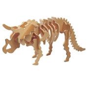 Triceratops - składanka drewniana
