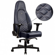 Fotel gamingowy noblechairs ICON skóra naturalna