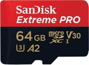 Karta pamięci MicroSDXC Sandisk 64GB Extreme 90MB/s UHS-I
