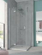 Kermi Osia Ściana boczna, szkło przezroczyste, profile srebrne 90x200cm OSTWD09020VPK