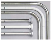 Sealskin Stang Drążek prysznicowy kątowy chrom 90x90cm aluminium 275556218
