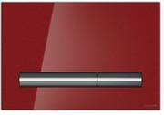 Cersanit Pilot przycisk spłukujący 2-funkcyjny szkło czerwone K97-363