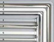Sealskin Drążek prysznicowy Seallux 80-130cm aluminium biały 276663210