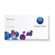 WYPRZEDAŻ Soczewki Biofinity 3 szt. MOC +0,25 Soczewki Cooper Vision