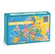 Puzzle Magnetyczne Poznaje Europę