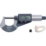 YATO Mikrometr 0-25mm z wyświetlaczem cyfrowym (YT-72305) YATO