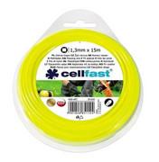 CELLFAST Żyłka tnąca kwadrat 1,3mm x 15m CELLFAST