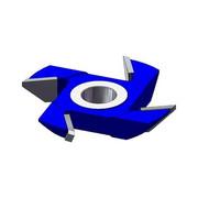 GLOBUS Frez kątowy jednostronny Z=4 HSS 120x30x15 lewy GLOBUS