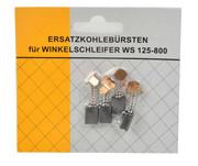 Szczotki węglowe szlifierki 125 blister-4szt./ 5x8x10mm GEKO