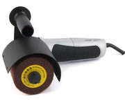 FN GLOB Przystawka do satynowania i matowienia powierzchni płaskich do szlifierek kątowych 125 mm, system mocowania Metabo(GS04-02) FN GLOB
