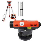 Niwelator optyczny BL 32 + statyw + łata 5m AWTOOLS