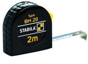 Miara zwijana stalowa z blokadą typ BM20 3m STABILA