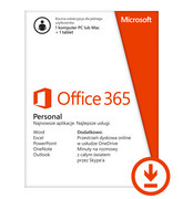 Office 365 Personal 1 year - licencja online Microsoft