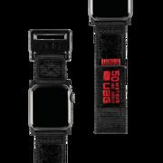 """Active Strap - materiałowy pasek do Apple Watch 40""""/38"""" (czarny) UAG"""