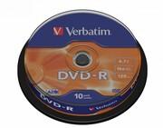 Verbatim DVD-R 16x 4.7GB 10P CB 43523 VERBATIM