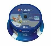 Verbatim BD-R 6x 25GB 25P CB HTL Printable NO ID 43811 VERBATIM