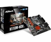 ASRock Płyta główna H110M-HDV s1151 2DDR4 USB3.1/VGA/DVI/HDMI micro ATX asrock
