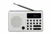 Eltra Radio Pliszka USB, FM białe eltra