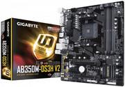 Gigabyte Płyta główna GA-AB350M-DS3H V2 AM4 B350 4DDR4 4USB3/HDMI/DVI M.2 micro ATX gigabyte