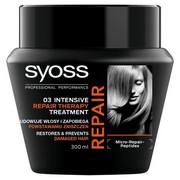 SYOSS Repair Therapy Intensive Treatment maska do włosów suchych i zniszczonych 300ml SYOSS