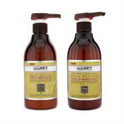 ZESTAW SARYNA KEY Pure African Shea szampon 500ml + Shea odżywka do włosów 500ml SARYNA KEY