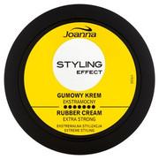 JOANNA Styling Effect gumowy krem do włosów Ekstramocny 80g JOANNA