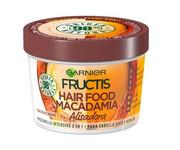 GARNIER Fructis Macadamia Hair Food wygładzająca maska do włosów suchych i niesfornych 390ml GARNIER